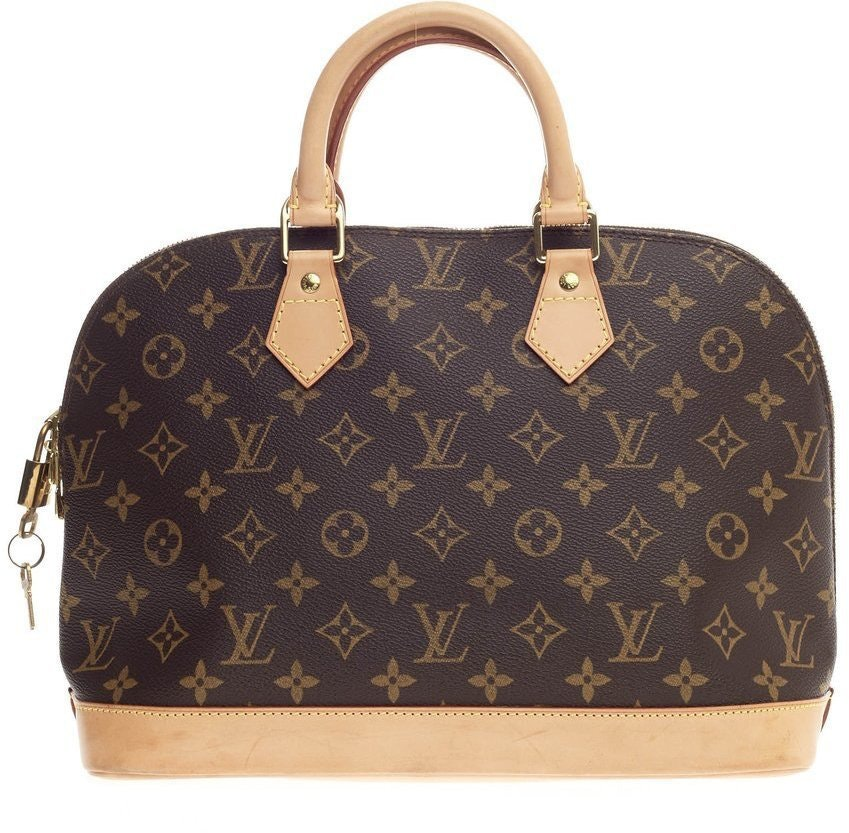 Louis Vuitton Alma Monogram MM Brown