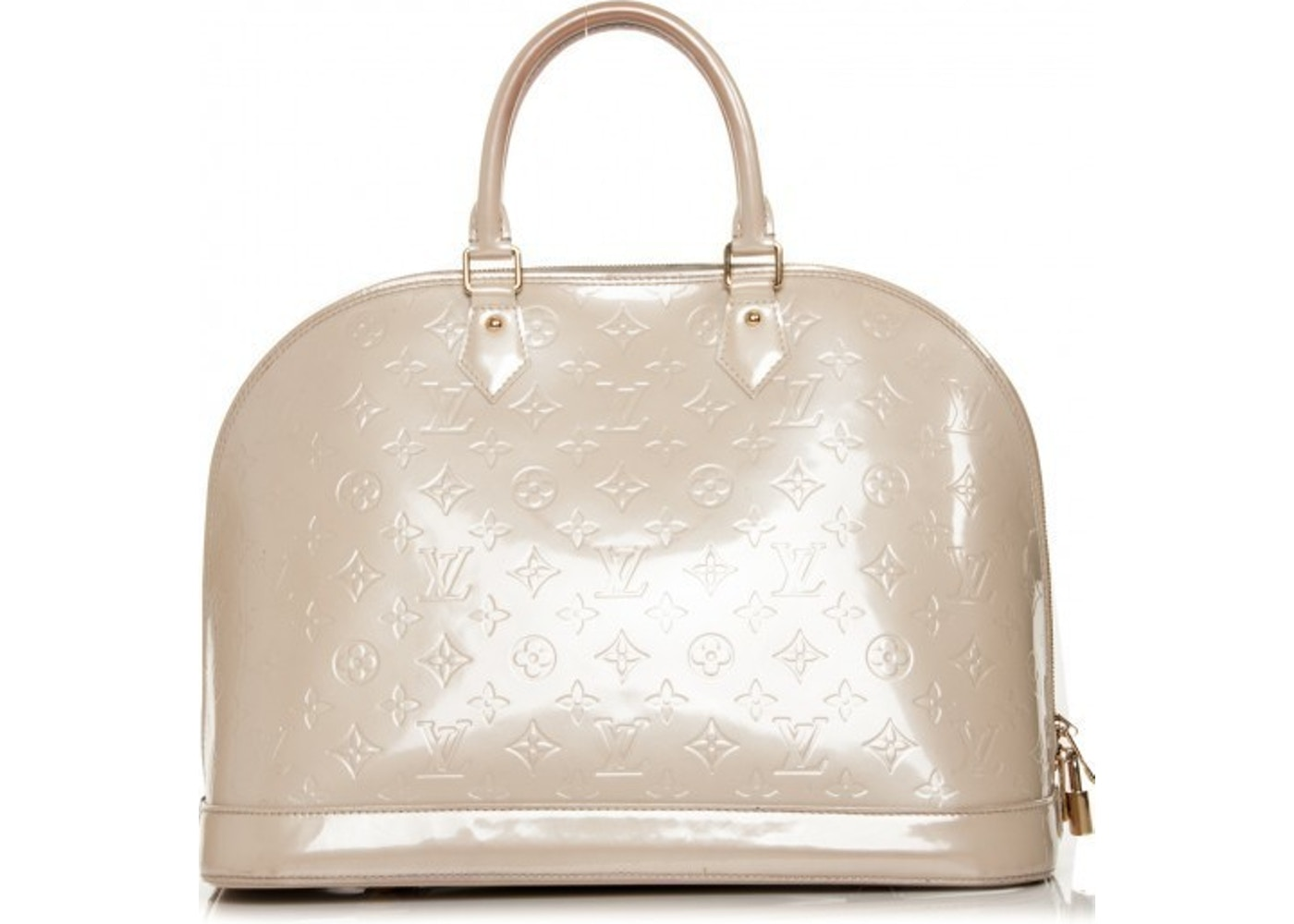a0e68b17358f Sell. or Ask. View All Bids. Louis Vuitton Alma Monogram Vernis ...