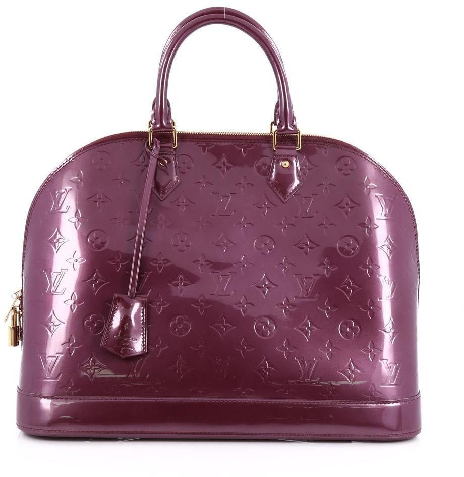 Louis Vuitton Alma Monogram Vernis GM Violette