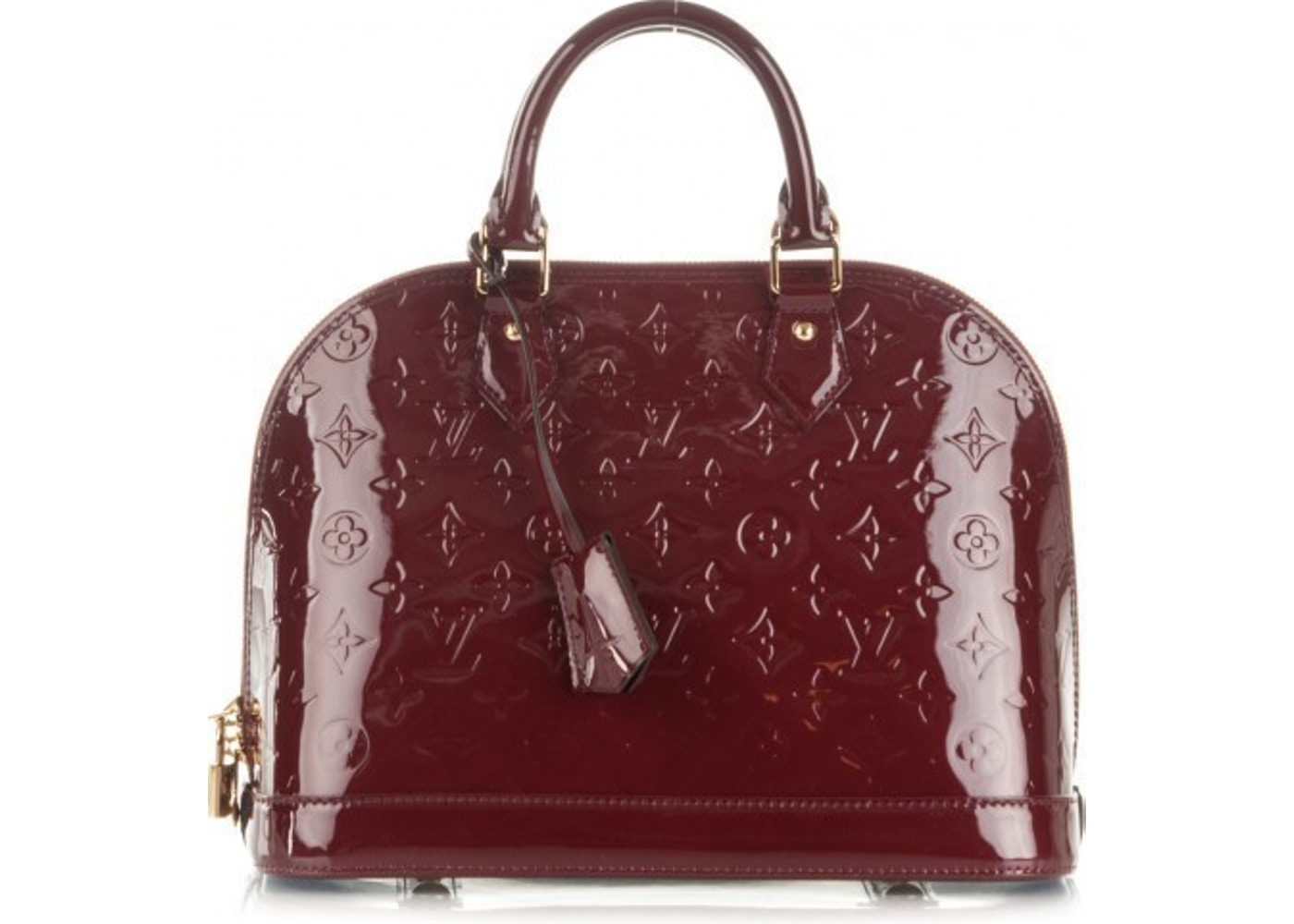 7e36f4c45d33 Sell. or Ask. View All Bids. Louis Vuitton Alma Monogram Vernis PM Griotte