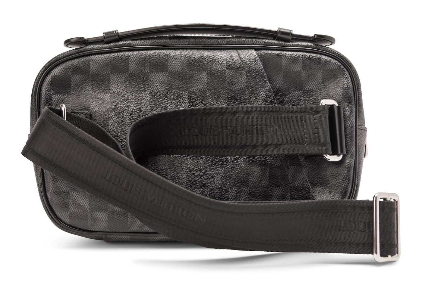 0c20d1f02f32 Louis Vuitton Ambler Damier Graphite Black