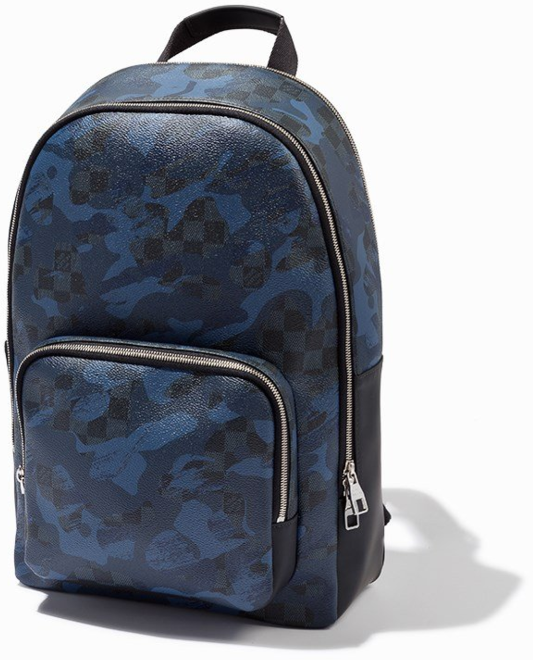 Louis Vuitton Andy Damier Cobalt Bleu Camouflage Blue/Black/Gray