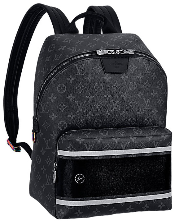 Louis Vuitton x Fragment Apollo Backpack Monogram Eclipse Black