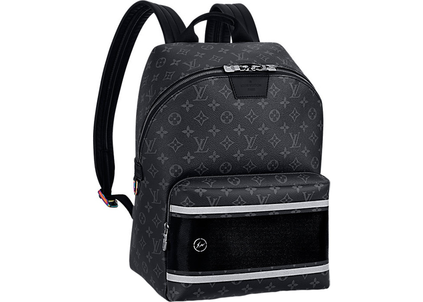 37883961b503 Louis Vuitton x fragment Apollo Backpack Monogram Eclipse Black. Monogram  Eclipse Black
