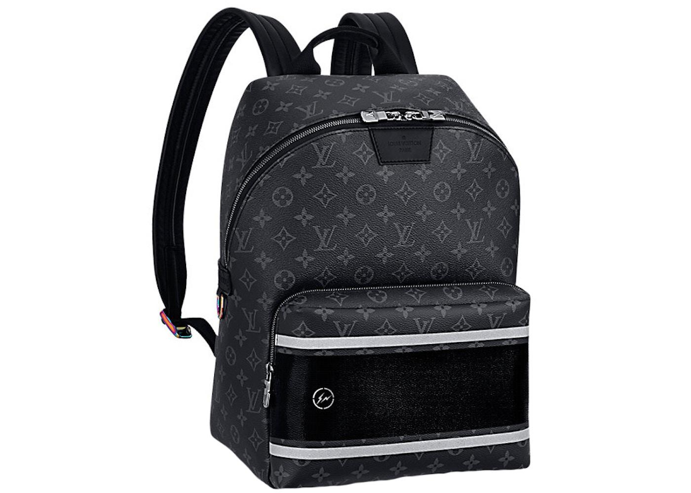 22923044379 Louis Vuitton x fragment Apollo Backpack Monogram Eclipse Black