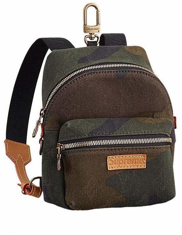 Louis Vuitton x Supreme Apollo Backpack Monogram Camo Nano