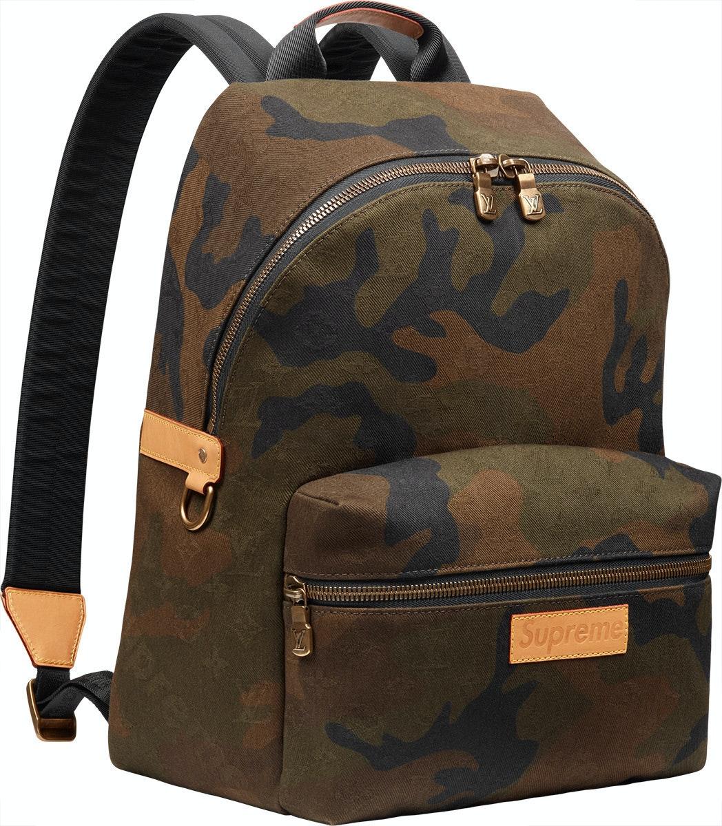 Louis Vuitton x Supreme Apollo Backpack Monogram Camo