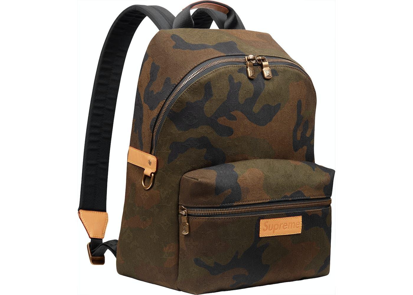 louis vuitton x supreme apollo backpack monogram camo. Black Bedroom Furniture Sets. Home Design Ideas