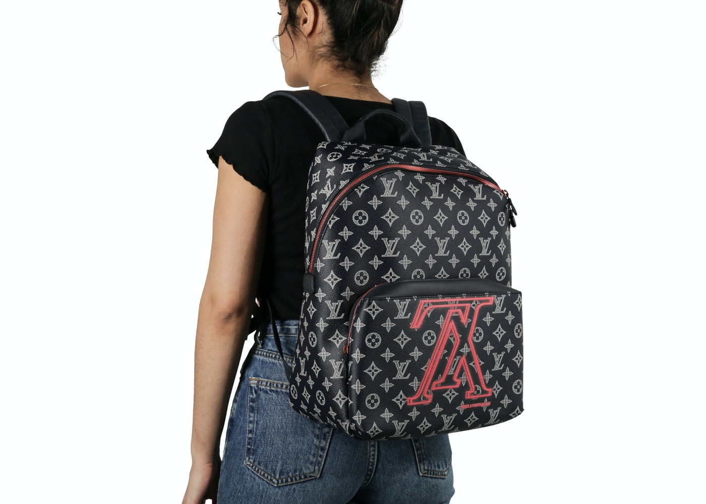 787a229dd054 Louis Vuitton Apollo Backpack Monogram Upside Down Ink Navy