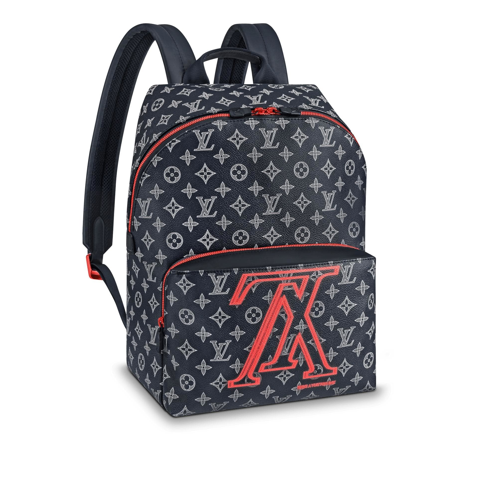 Louis Vuitton Apollo Backpack Monogram Upside Down Ink Navy