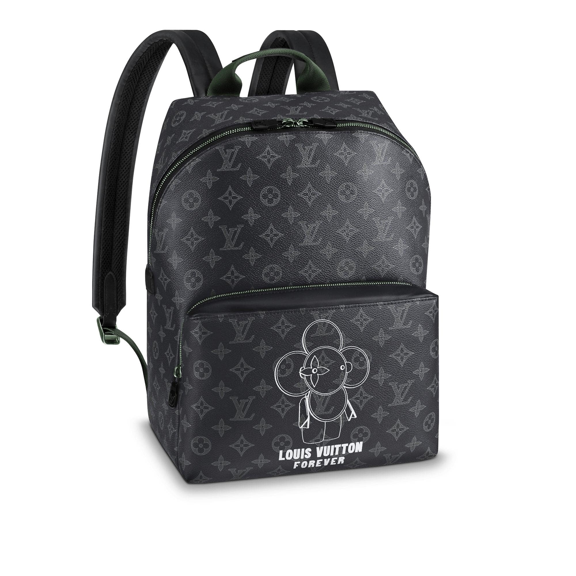 Louis Vuitton Apollo Backpack Monogram Vivienne Eclipse Black