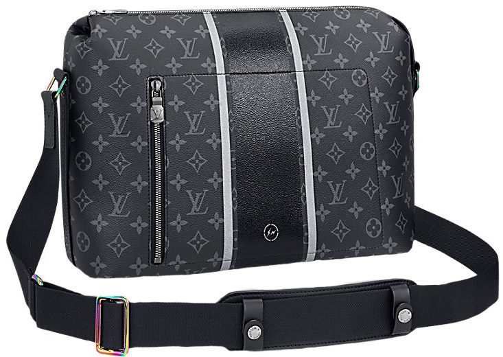 Louis Vuitton x Fragment Apollo Messenger Monogram Eclipse PM Black