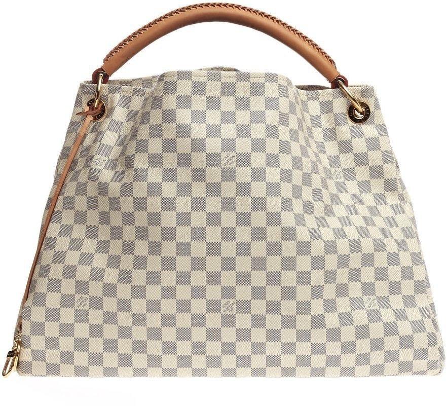 Louis Vuitton Artsy Damier Azur Gm Ivorie Grey