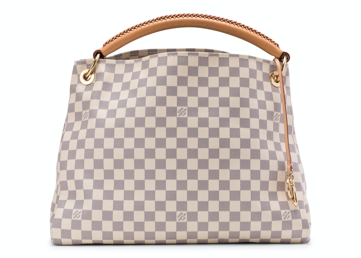 1b4d18c5f072 Louis Vuitton Artsy Damier Azur MM Ivorie Grey