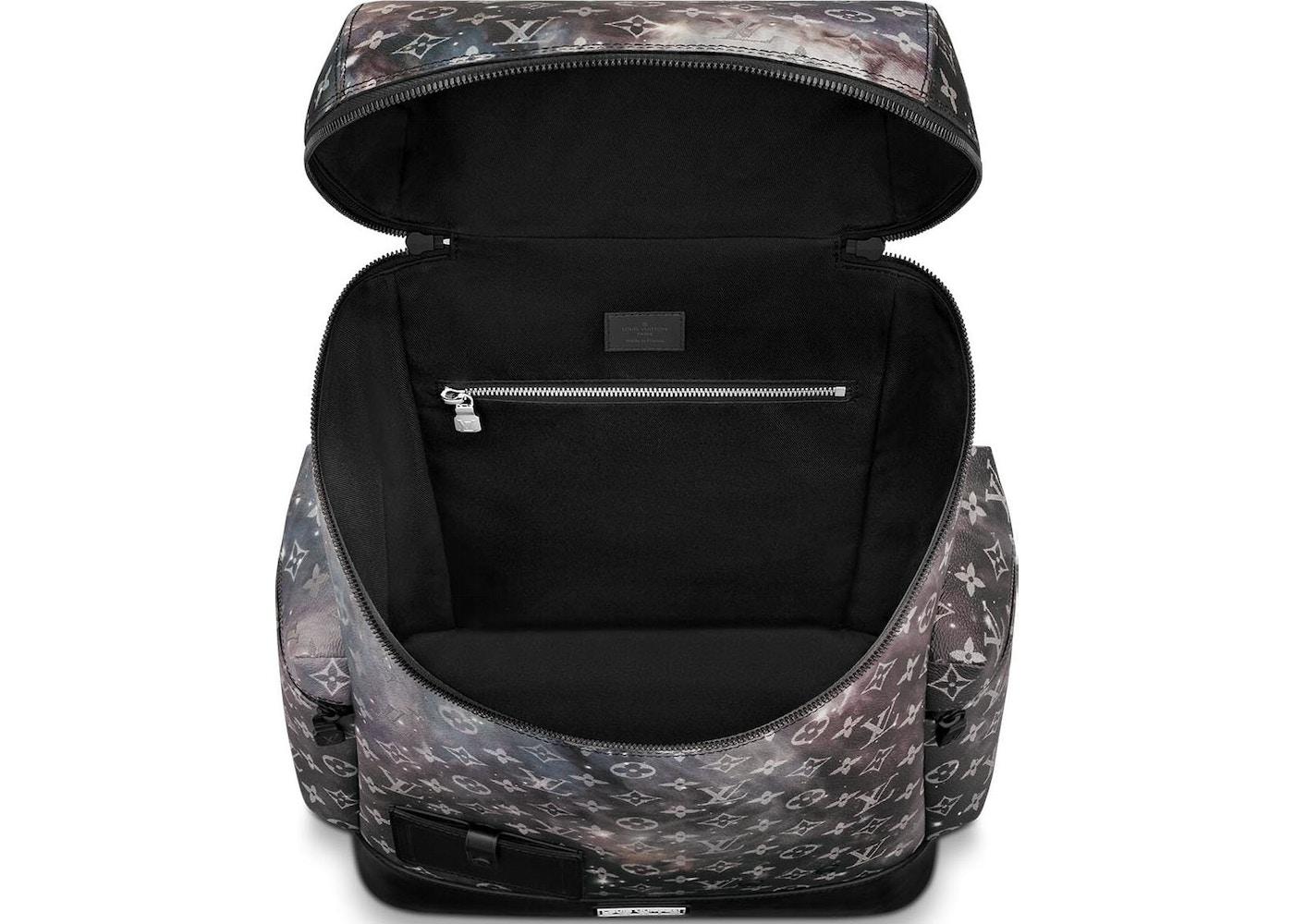1e34b5590d83 Louis Vuitton Backpack Alpha Monogram Galaxy Black Multicolor