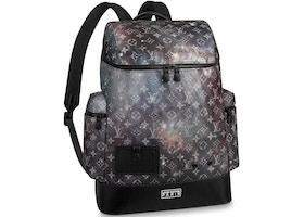 Louis Vuitton Alpha Backpack Monogram Galaxy Black Multicolor