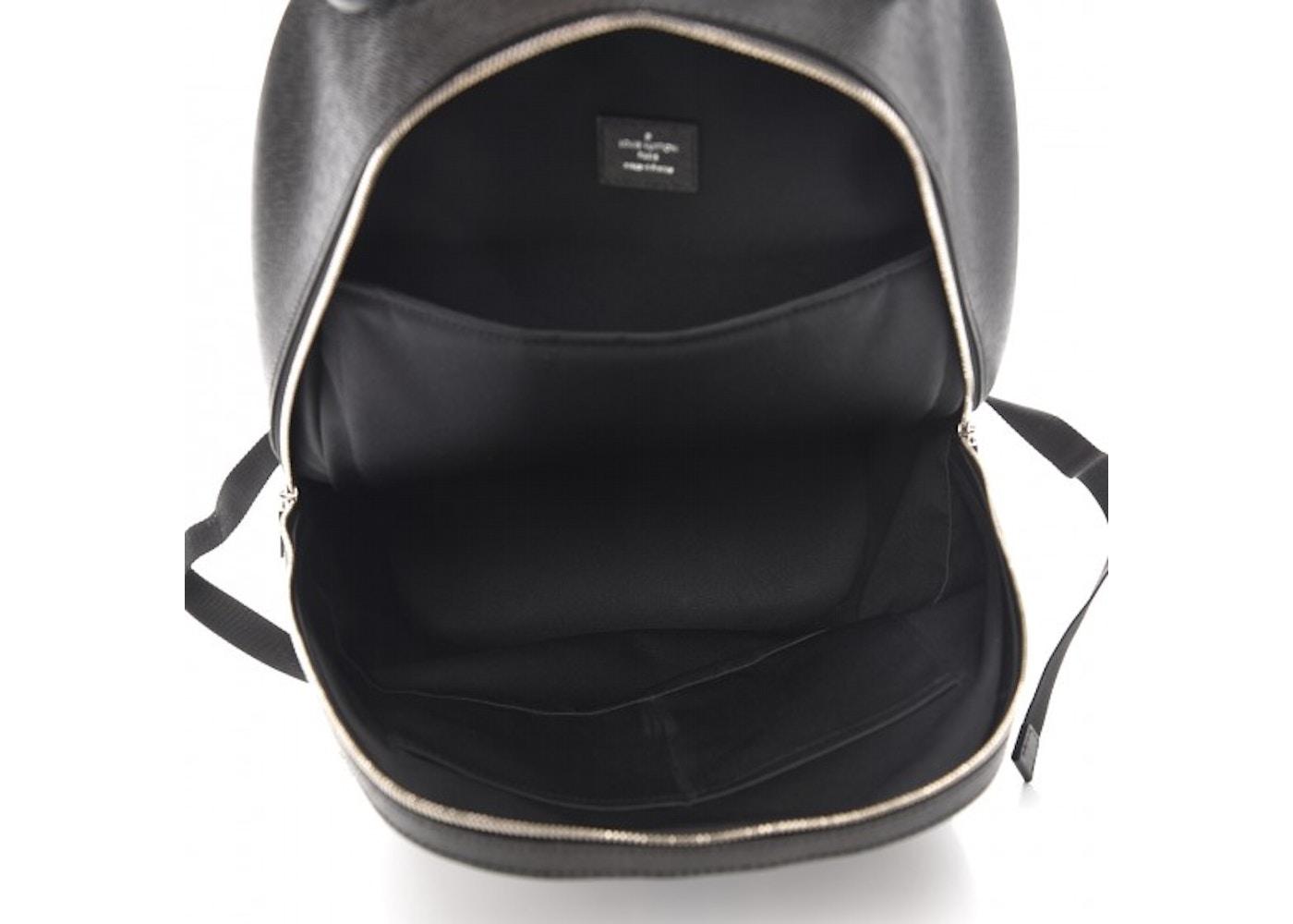 7fa6ff159e6f Louis Vuitton Backpack Anton Taiga Ardoise Blue White