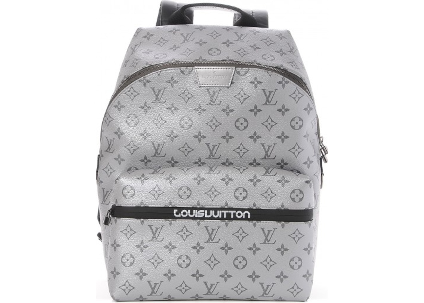 4ca74518f815 Louis Vuitton Backpack Apollo Outdoor Monogram Reflect Silver Black.  Monogram Reflect Silver Black