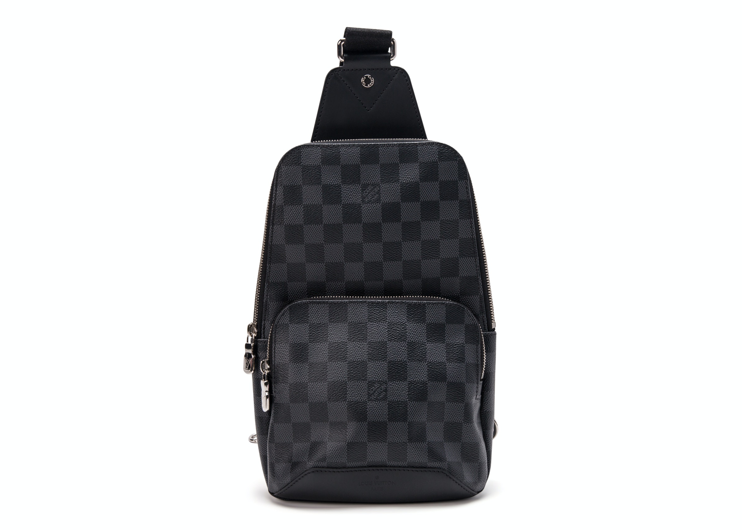 Louis Vuitton Backpack Avenue Silng Damier Graphite Black/Gray