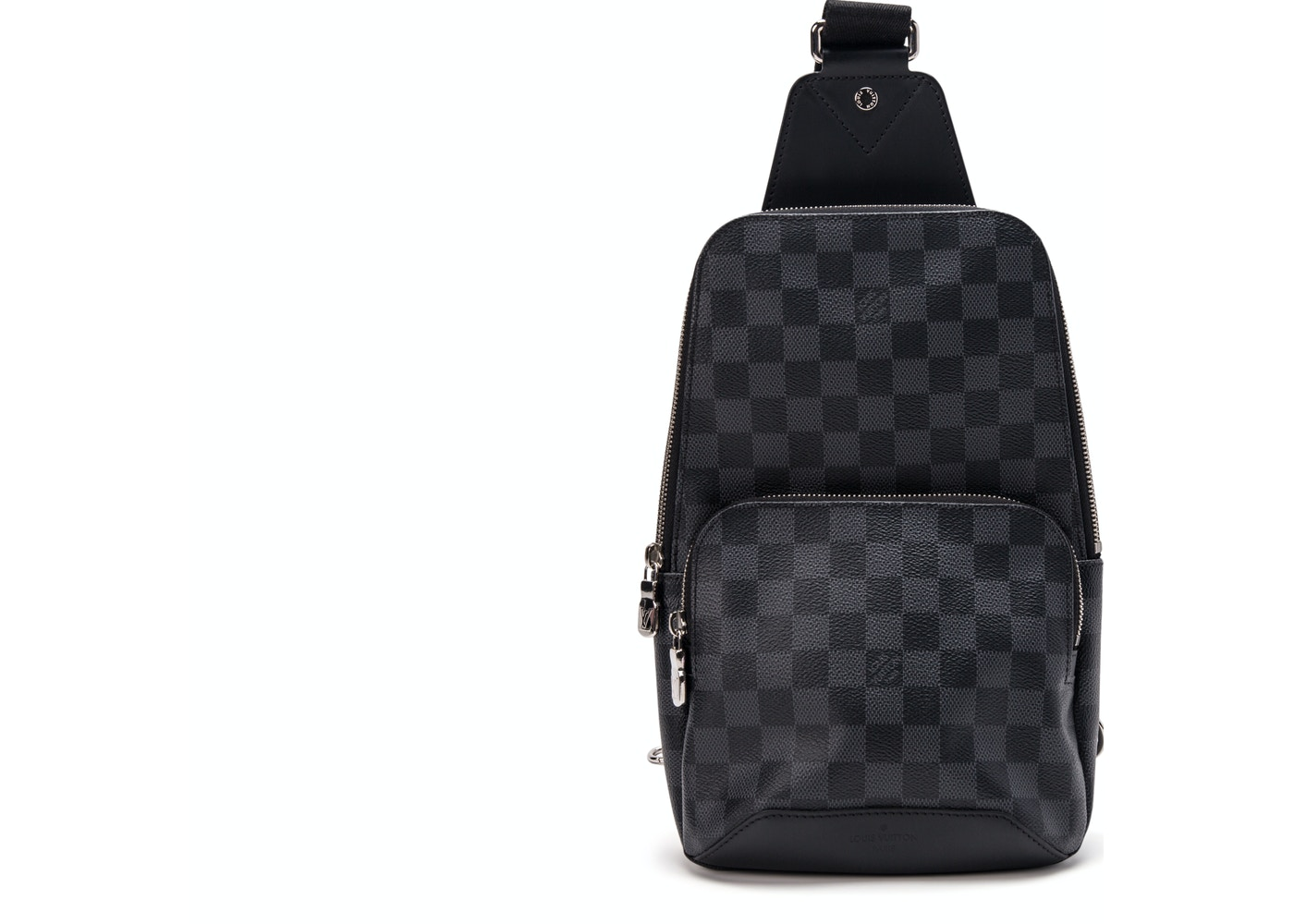 68f8ad3205e0 Louis Vuitton Backpack Avenue Sling Damier Graphite Black Gray. Damier  Graphite Black Gray