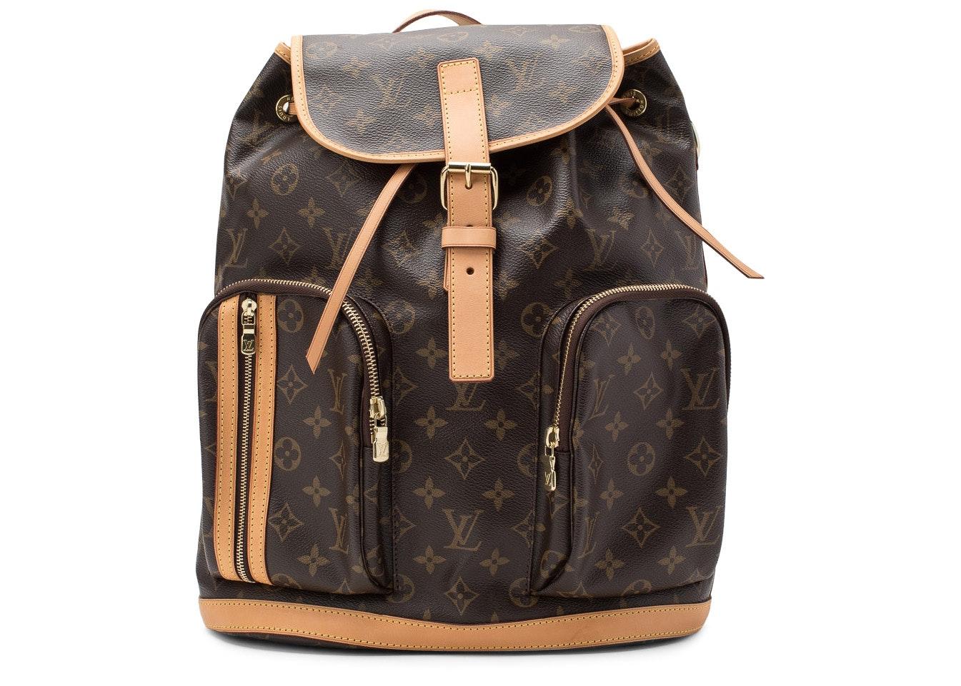 Louis Vuitton Backpack Bosphore Monogram Brown