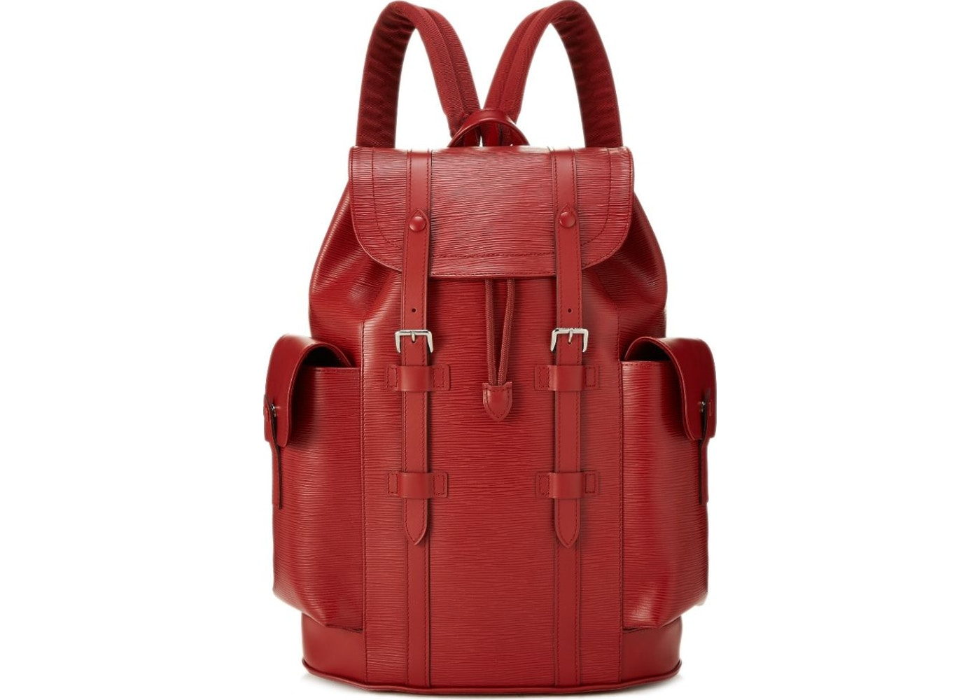 Louis Vuitton Backpack Christopher Epi PM Carmine Red. Epi PM Carmine Red ff2151a5fe4b2