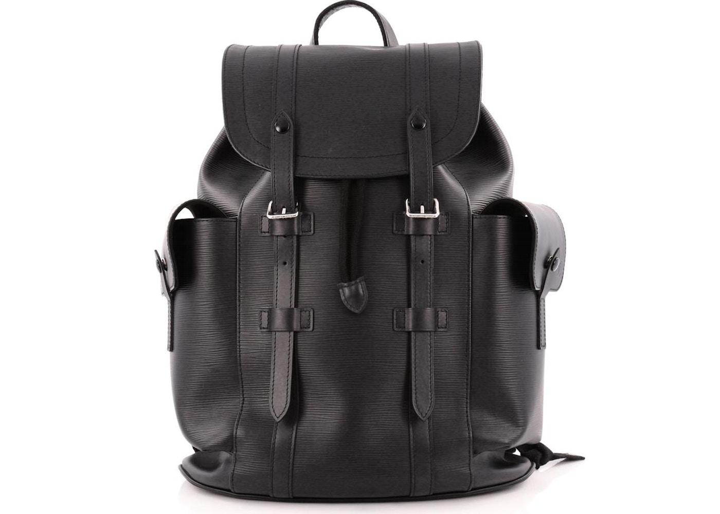 Louis Vuitton Backpack Christopher Epi PM Noir Black. Epi PM Noir Black 21f109fde03ec