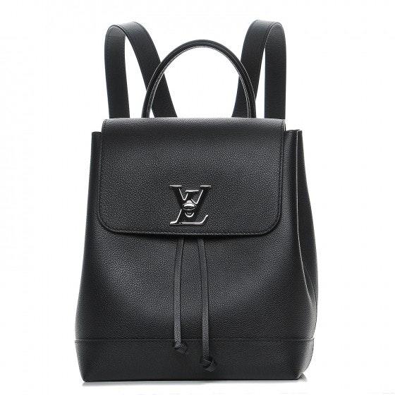 Louis Vuitton Backpack Lockme Noir Black