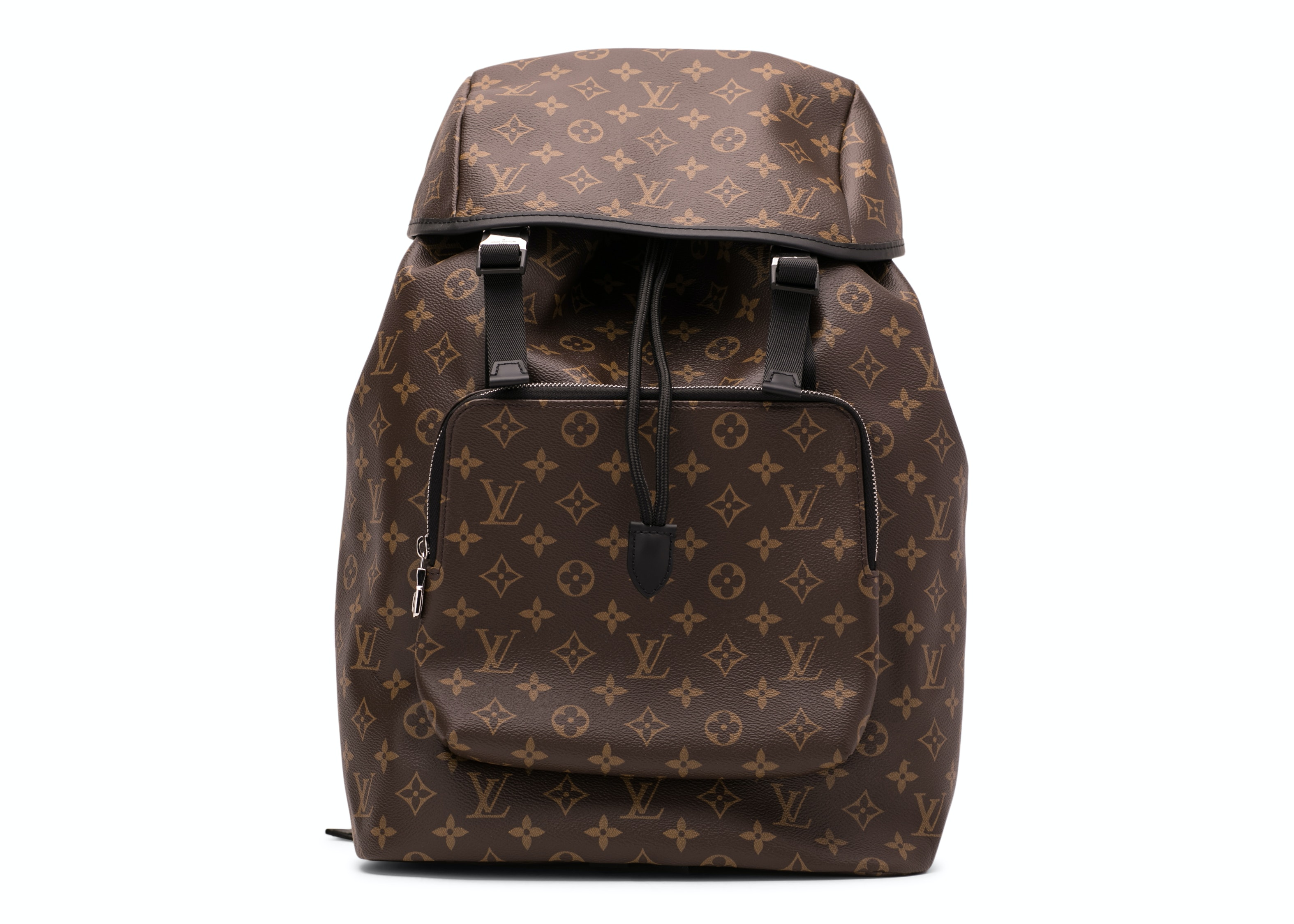 Louis Vuitton Backpack Zack Monogram Macassar Brown