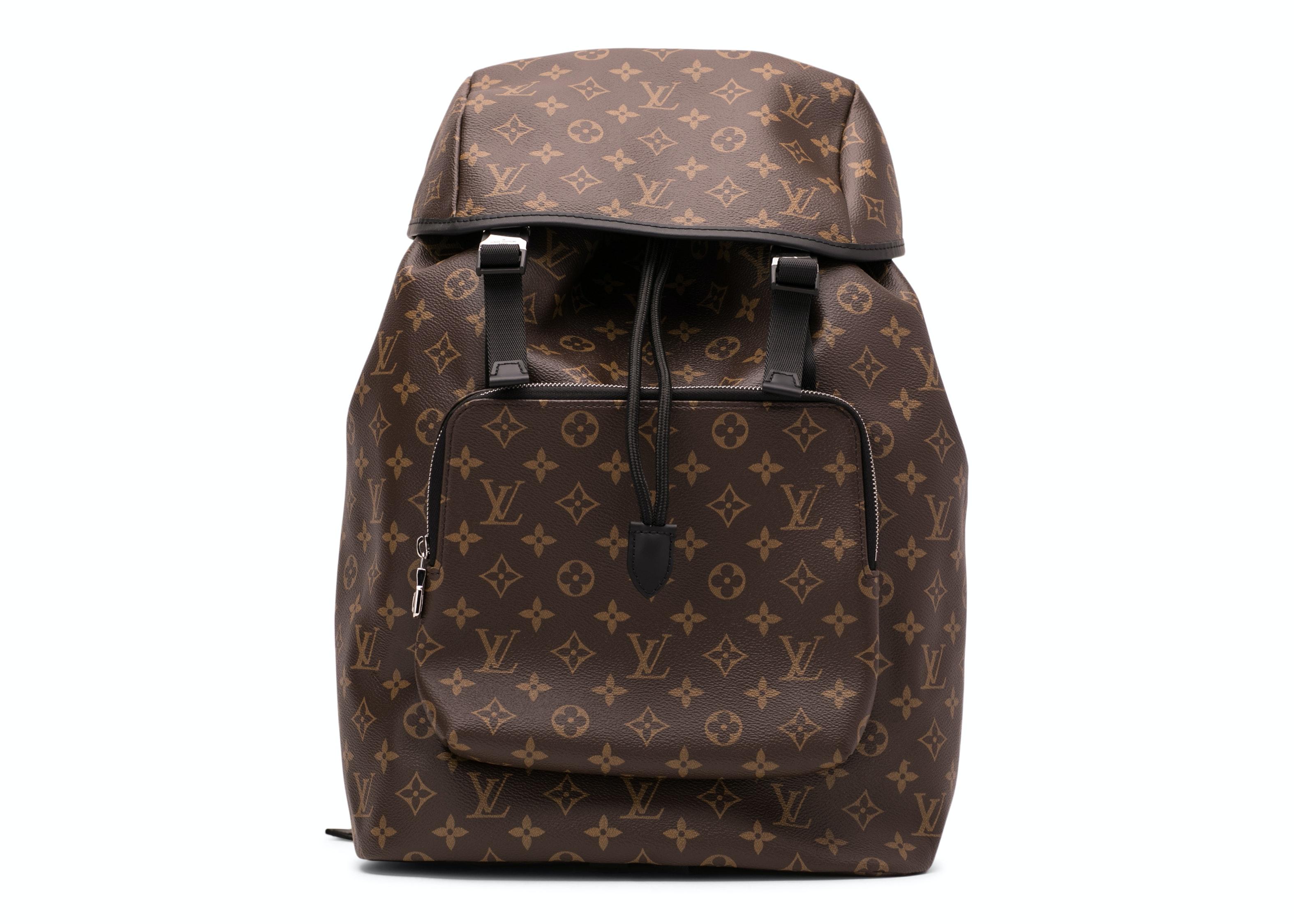 Louis Vuitton Backpack Zack Monogram Macassar Brown