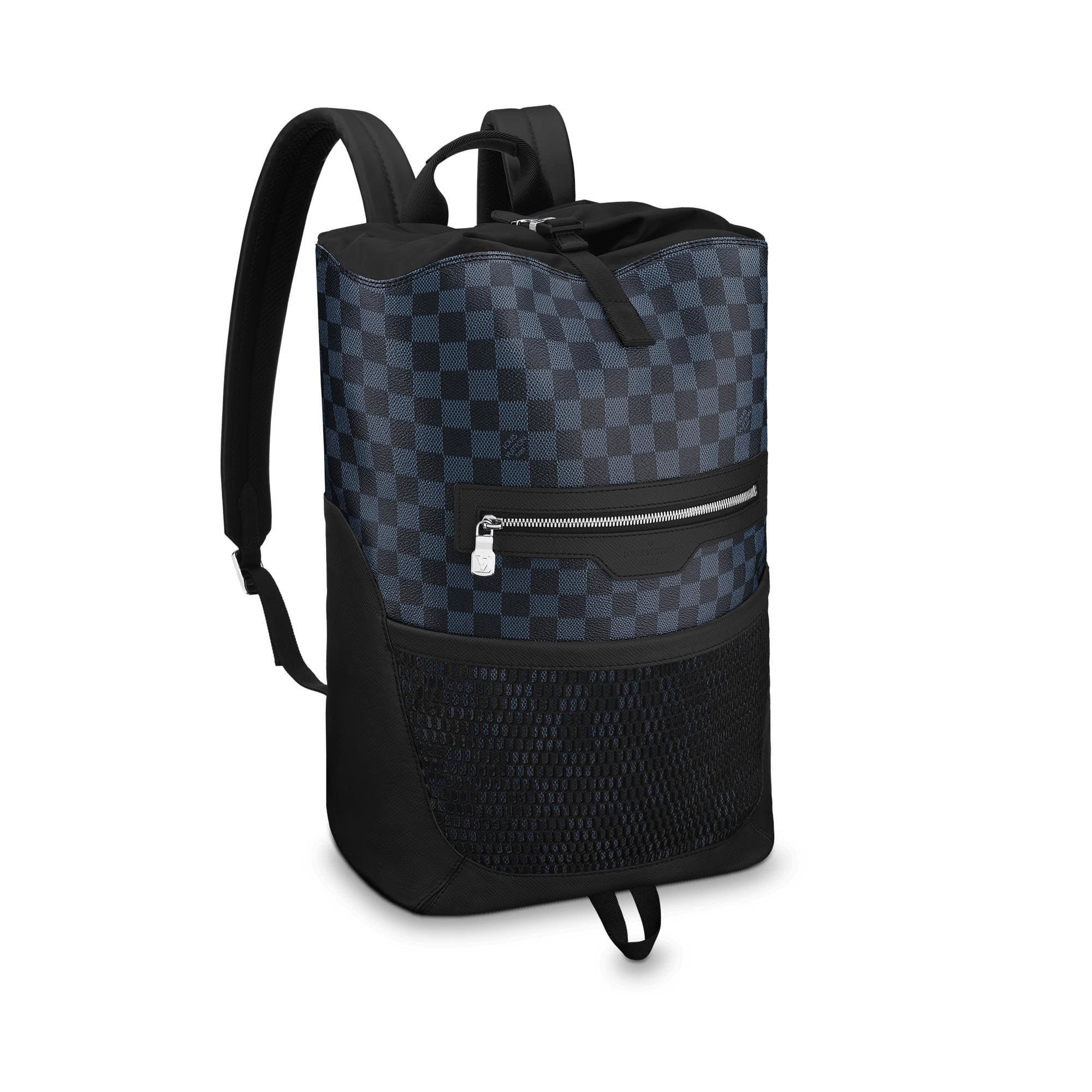 Louis Vuitton Backpack Matchpoint Damier Cobalt Black/Blue