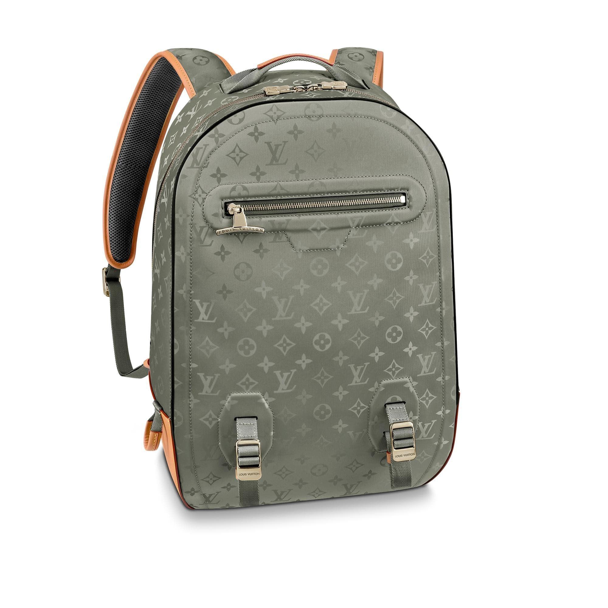 Louis Vuitton Backpack Monogram GM Grey