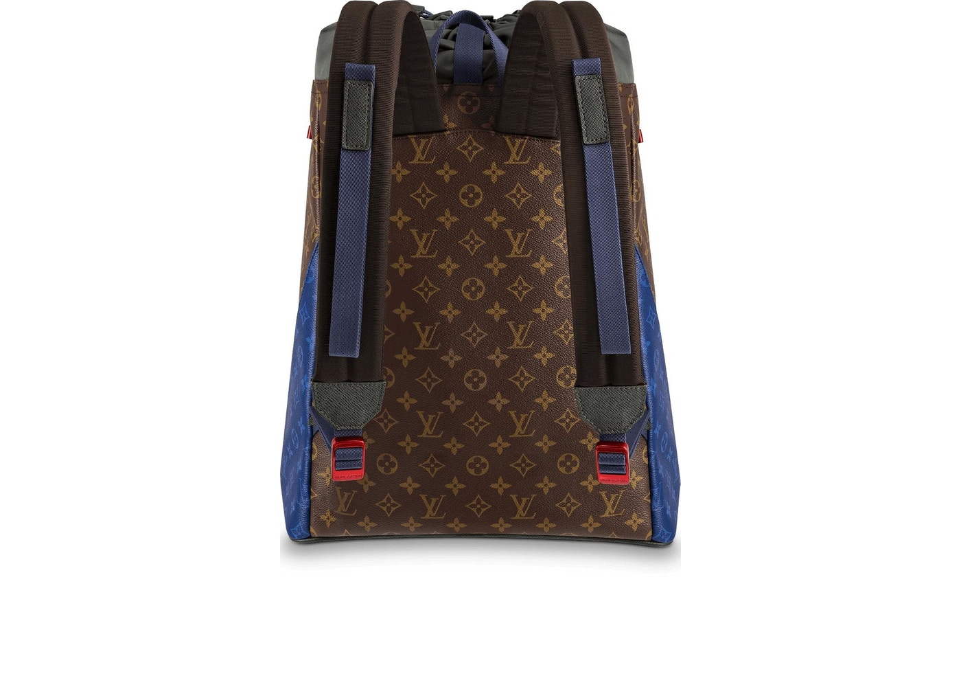5298f1c4016d Louis Vuitton Backpack Monogram Outdoor Canvas Brown Multicolor
