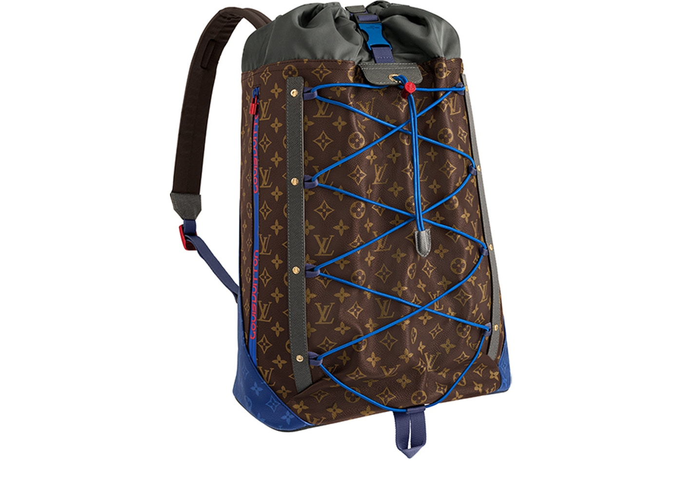 bf8621758e51 Louis Vuitton Backpack Monogram Outdoor Canvas Brown Multicolor. Monogram  Outdoor Canvas Brown Multicolor