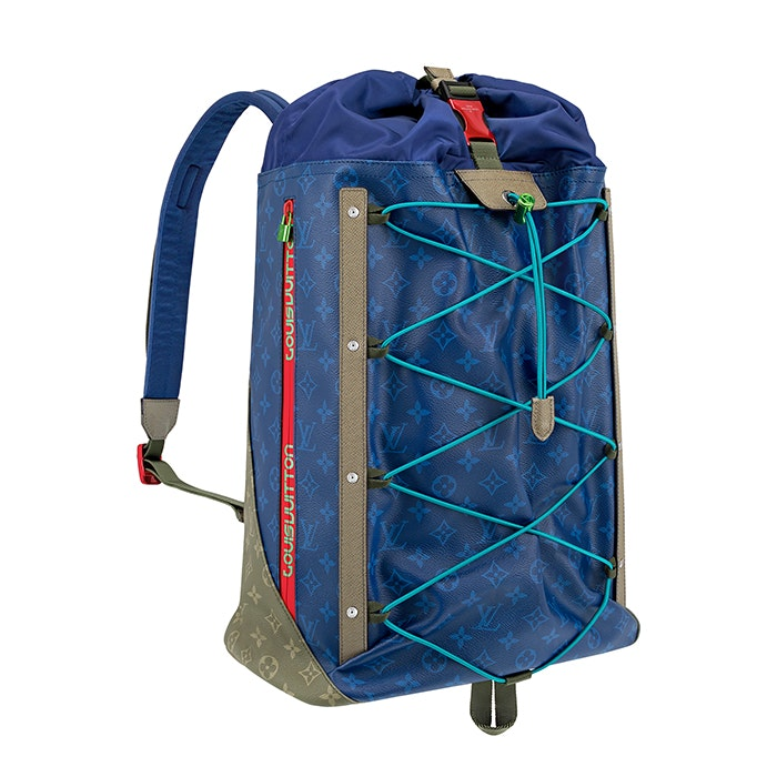 Louis Vuitton Backpack Monogram Pacific Outdoor Blue Multicolor
