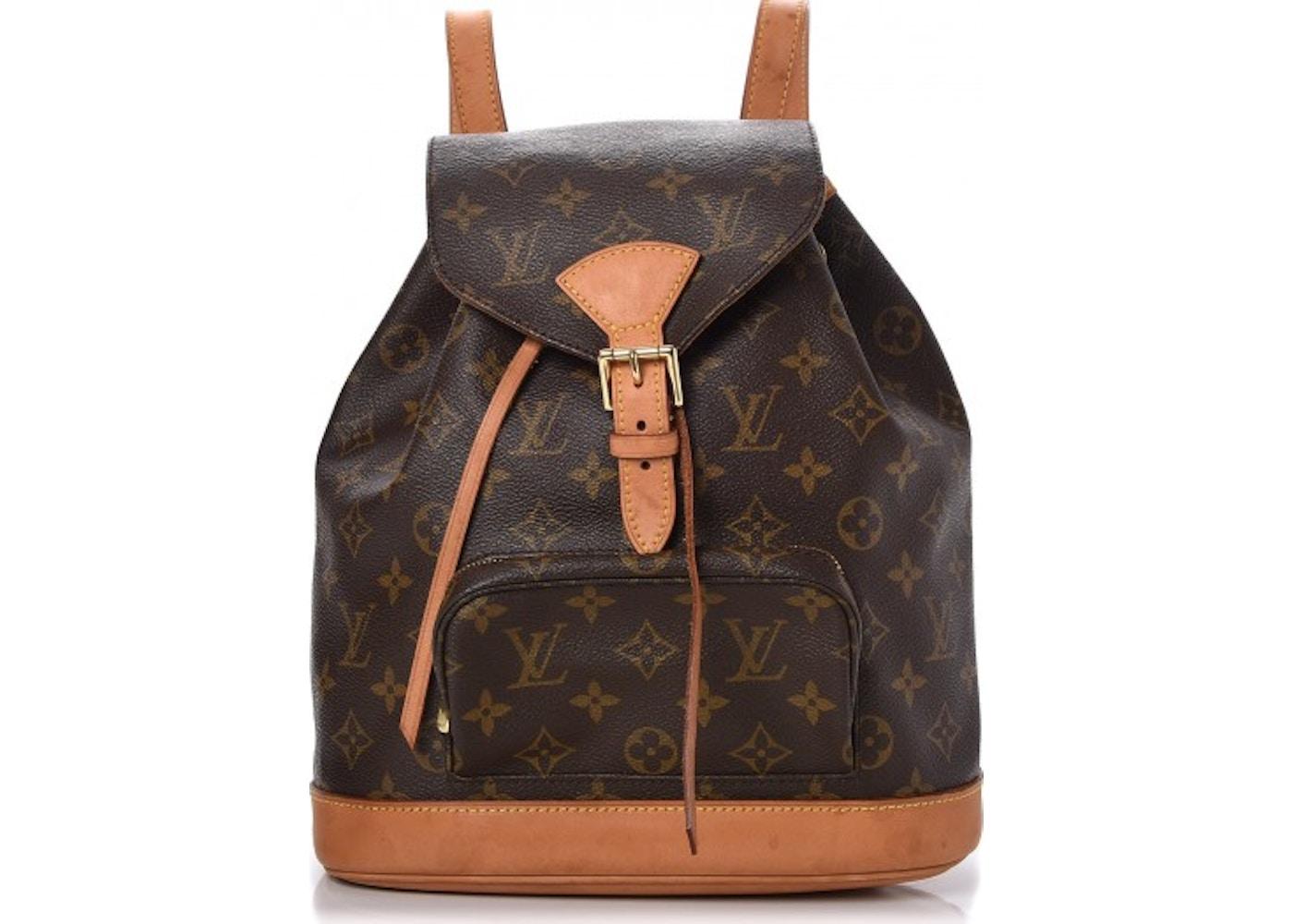 d88f11d22d9b Louis Vuitton Backpack Montsouris Monogram MM Brown. Monogram MM Brown