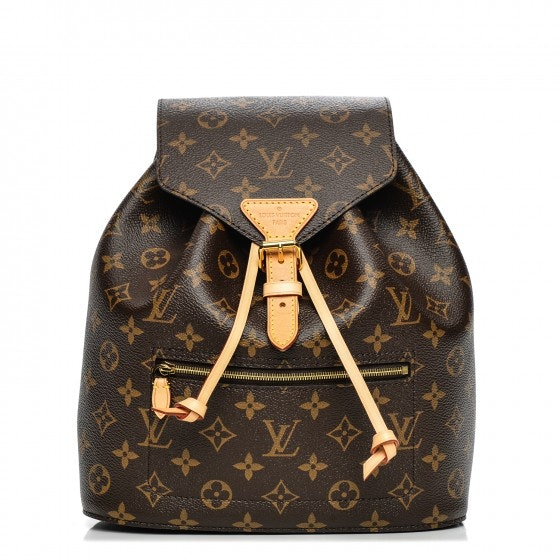 Louis Vuitton Backpack Montsouris Monogram NM Brown