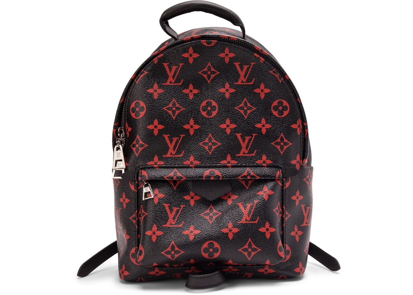 00ac585ce55 Louis Vuitton Backpack Palm Springs Monogram Infrarouge PM Black ...