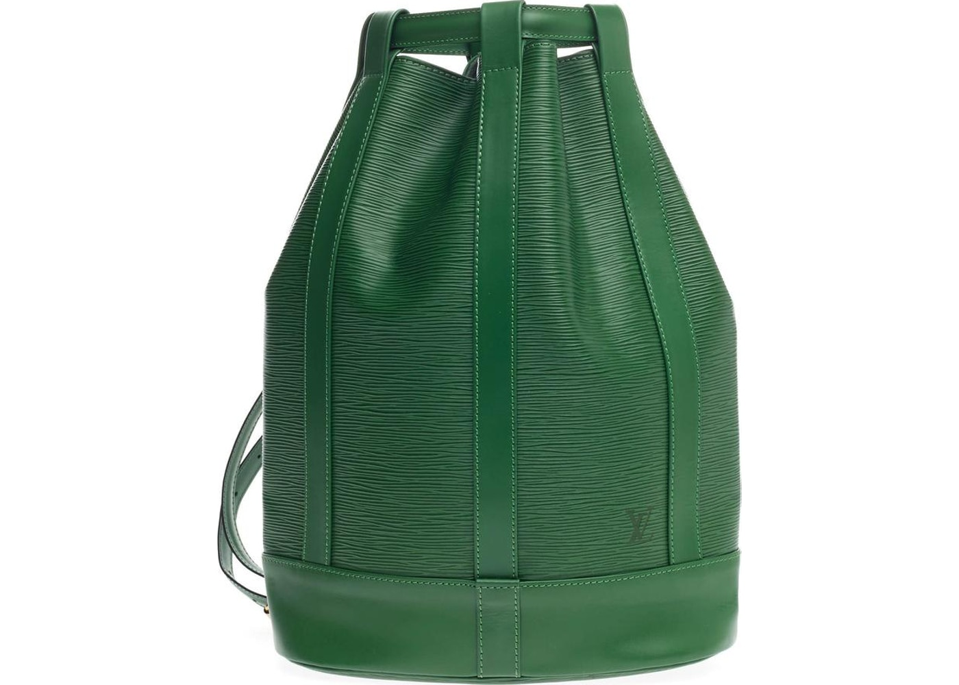 104cc8255880 Louis Vuitton Backpack Randonnee Epi GM Borneo Green. Epi GM Borneo Green