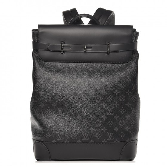 Louis Vuitton Backpack Steamer Monogram Eclipse Black/Grey