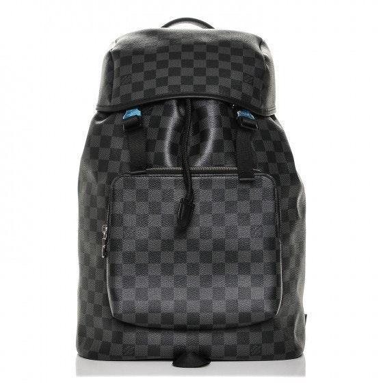 Louis Vuitton Backpack Zack Damier Graphite Black