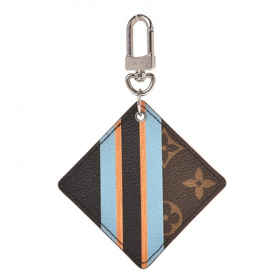 Louis Vuitton Bag Charm Key Holder Illustre Jacket Monogram Brown/Black/Blue/Orange
