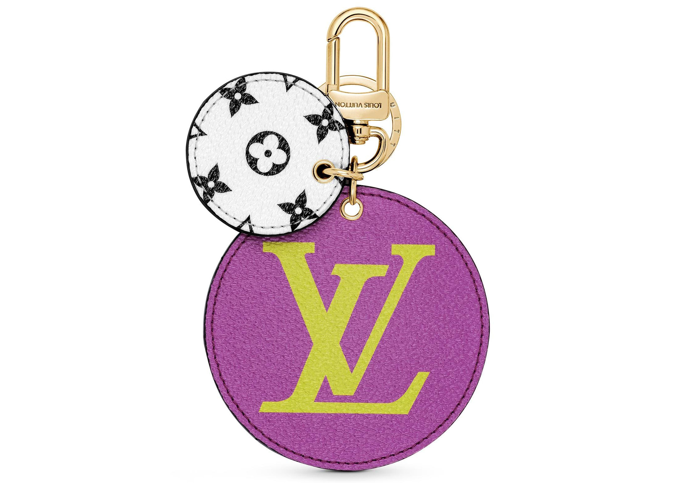 Louis Vuitton Bag Charm And Key Holder Monogram Giant Lilac