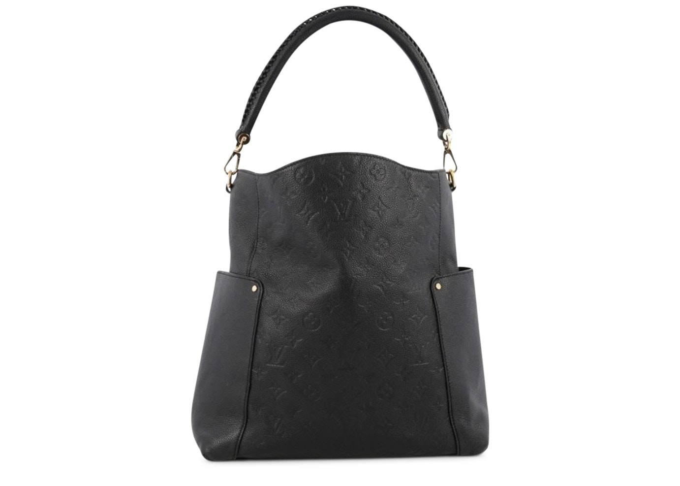 Louis Vuitton Bagatelle Monogram Empreinte Black