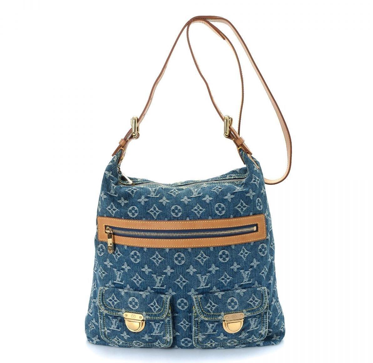 Louis Vuitton Baggy Monogram GM Blue