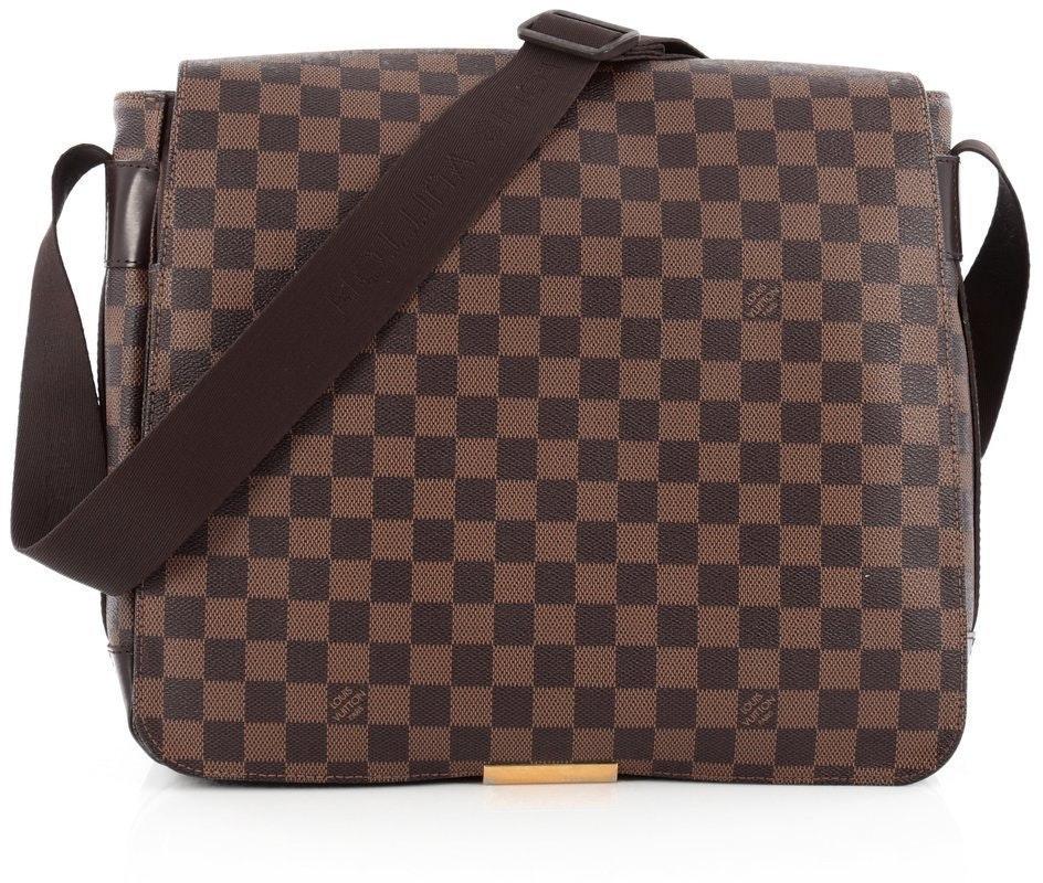 Louis Vuitton Bastille Messenger Damier Ebene Brown