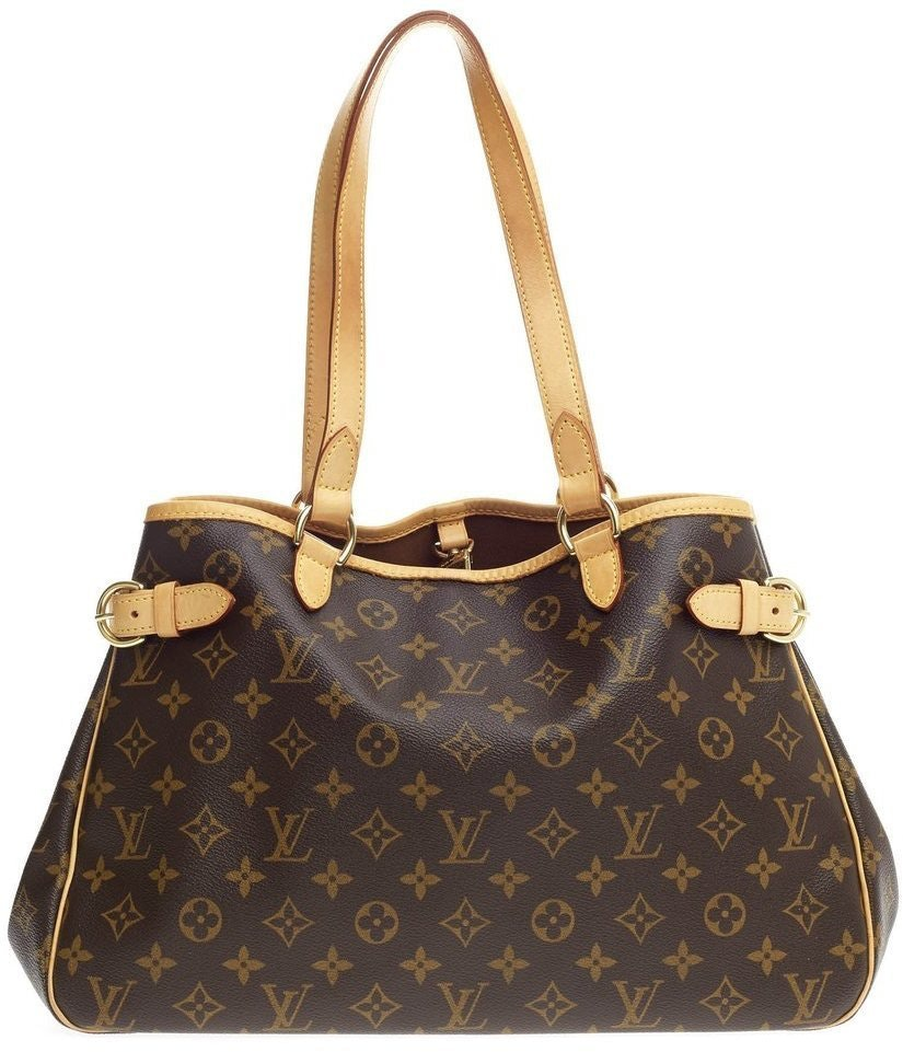 Louis Vuitton Batignolles Horizontal Monogram Canvas Brown
