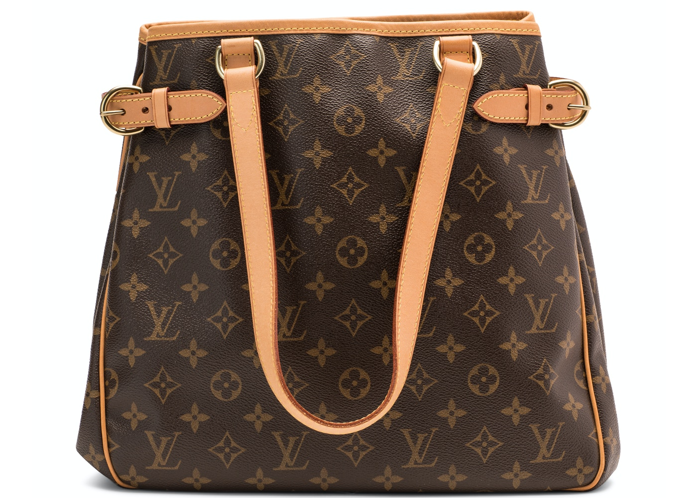 442a54d9fbfa Louis Vuitton Batignolles Vertical Monogram Canvas Brown. Monogram Canvas  Brown
