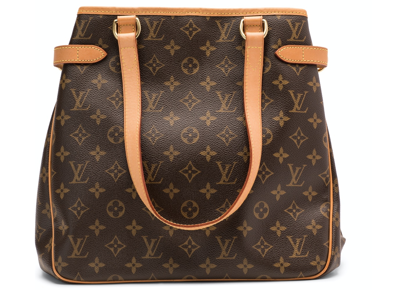 0fa211465128 Louis Vuitton Batignolles Vertical Monogram Canvas Brown