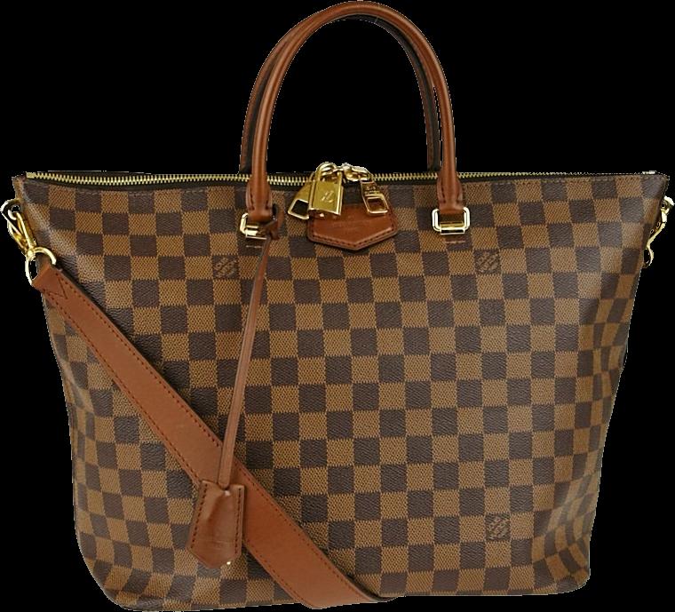 Louis Vuitton Belmont Damier Ebene Brown